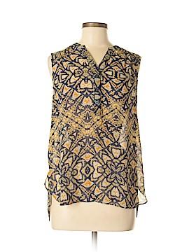 A.n.a. A New Approach Sleeveless Button-Down Shirt Size M
