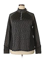 Ideology Women Track Jacket Size 2X (Plus)