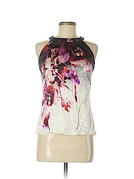 Morning Lady Inc. Sleeveless Silk Top Size S