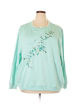 Shenanigans Sweatshirt Size 2X (Plus)
