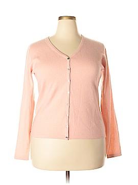 Worthington Cashmere Cardigan Size XL