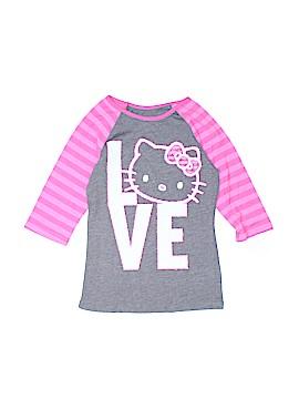 Hello Kitty 3/4 Sleeve T-Shirt Size S (Kids)