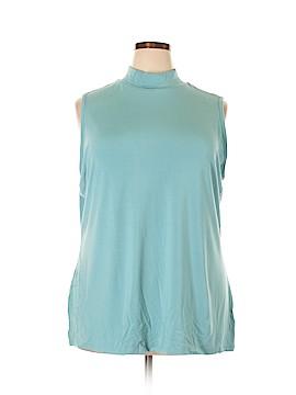 Charter Club Sleeveless T-Shirt Size 3X (Plus)