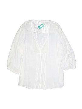 Gap Long Sleeve Button-Down Shirt Size 1
