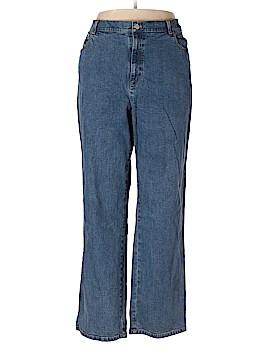 Jones New York Signature Jeans Size 18 (Plus)