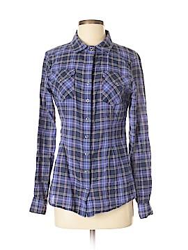 Athleta Long Sleeve Button-Down Shirt Size S