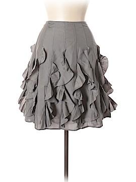 Garnet Hill Silk Skirt Size 8