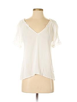 Sloane Rouge Short Sleeve Blouse Size XS
