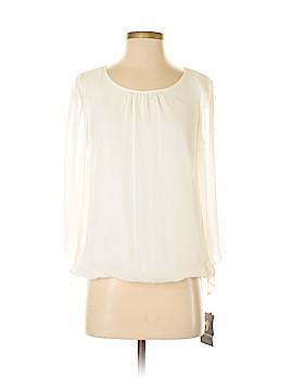 I.N. Studio Long Sleeve Blouse Size S (Petite)