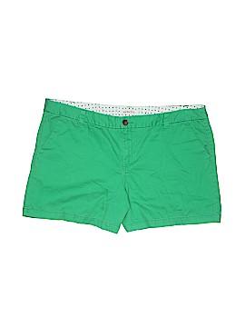 Merona Khaki Shorts Size 18 (Plus)