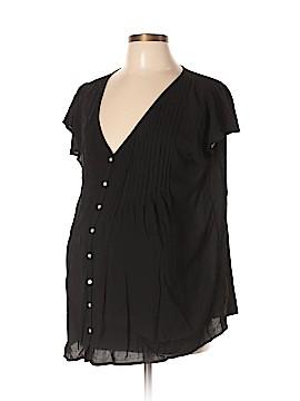 Seraphine Short Sleeve Blouse Size 10 (Maternity)