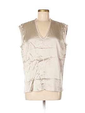 Catherine Malandrino Short Sleeve Silk Top Size 6