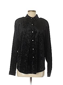 Stonebridge Long Sleeve Button-Down Shirt Size L