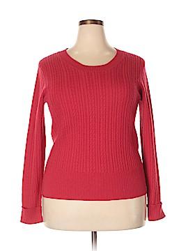 Sofia Cashmere Cashmere Pullover Sweater Size XL