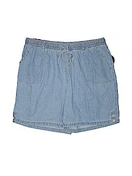 Karen Scott Denim Shorts Size 2X (Plus)