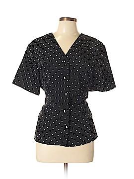 Kathie Lee Short Sleeve Button-Down Shirt Size XL