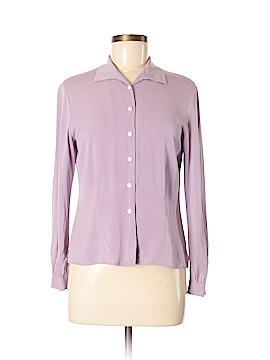 Talbots Long Sleeve Silk Top Size 6 (Petite)