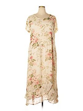 Midnight Velvet Casual Dress Size 2X (Plus)