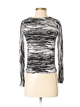 Diane von Furstenberg Long Sleeve Top Size P (Petite)