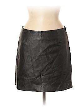 BB Dakota Leather Skirt Size 6