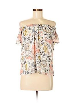 Ann Taylor LOFT Short Sleeve Blouse Size XXS (Petite)