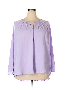 Seven7 3/4 Sleeve Blouse Size 3X (Plus)