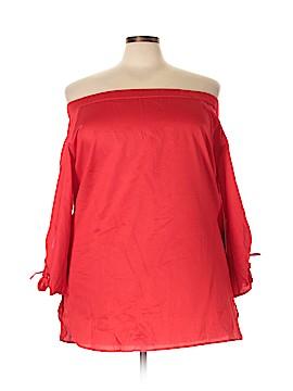Hart Denim 3/4 Sleeve Top Size 22 (Plus)