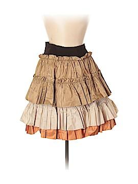 Roberto Cavalli Silk Skirt Size M