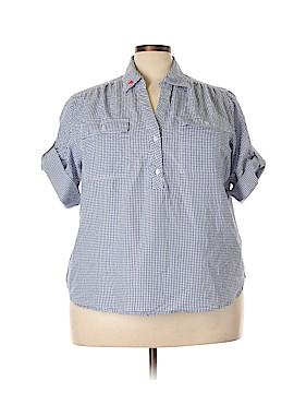 Cathy Daniels Short Sleeve Blouse Size 3X (Plus)