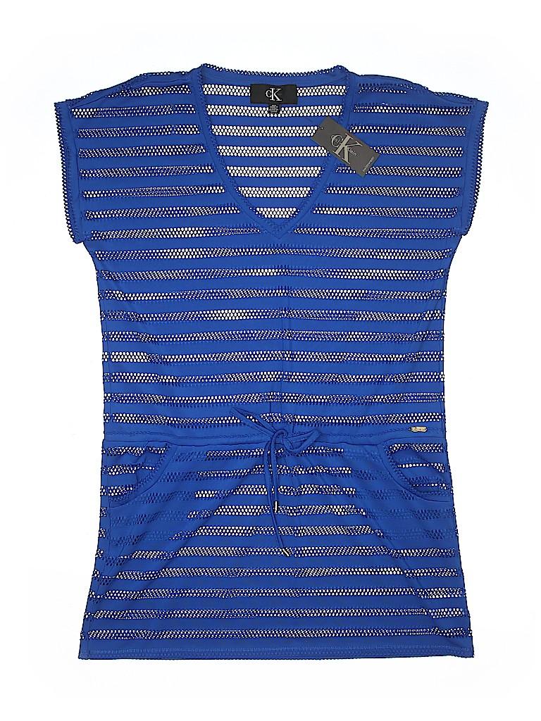 e487879f4e74c Calvin Klein Stripes Dark Blue Swimsuit Cover Up Size M - 64% off ...