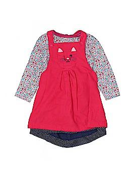 JoJo Maman Bebe Overall Dress Size 18-24 mo