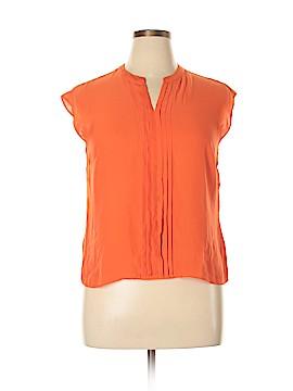 Talbots Short Sleeve Blouse Size 12