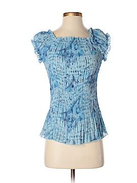 Agora Short Sleeve Blouse Size S