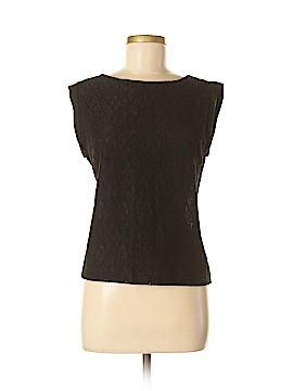 Ellen Tracy Short Sleeve Button-Down Shirt Size M