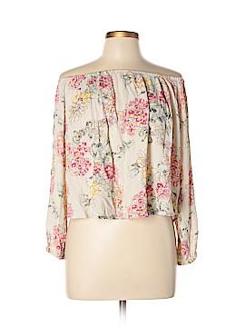 Billabong 3/4 Sleeve Blouse Size L