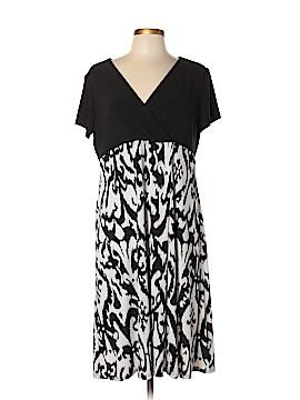 Travelsmith Casual Dress Size L (Petite)