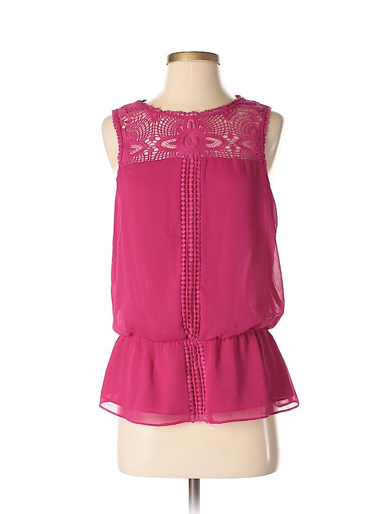 Adrianna Papell Women Sleeveless Blouse Size S