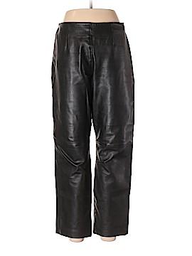 Margaret Godfrey Faux Leather Pants Size 10
