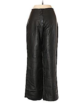 Adrienne Vittadini Leather Pants Size 6