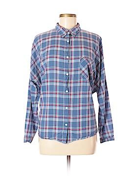 Margot Long Sleeve Button-Down Shirt Size M