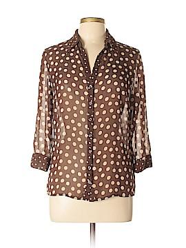 Per Una Long Sleeve Blouse Size 12
