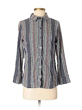 Soft Surroundings Long Sleeve Button-Down Shirt Size XS (Petite)