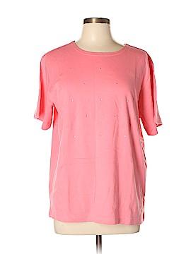 Quacker Factory Short Sleeve T-Shirt Size L