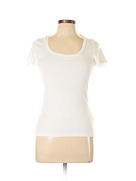 August Silk Short Sleeve T-Shirt Size M (Petite)