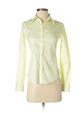 Banana Republic Long Sleeve Button-Down Shirt Size 00 (Petite)