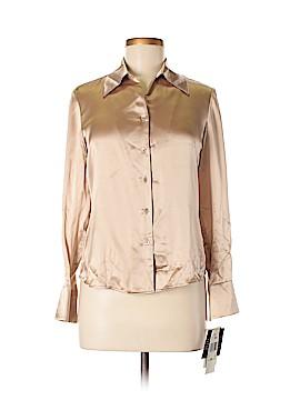 Kasper Long Sleeve Blouse Size 4 (Petite)