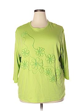 Rachelle 3/4 Sleeve T-Shirt Size 3X (Plus)