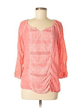 Valerie Stevens 3/4 Sleeve Blouse Size M