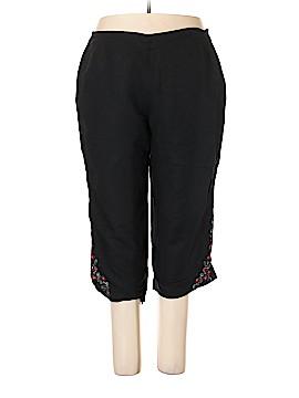 Larry Levine Linen Pants Size 20W (Plus)