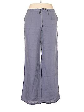 London Jean Linen Pants Size 14
